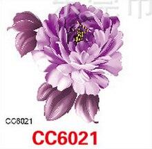 Mini Body Art waterproof temporary tattoos for women individuality flower design flash tattoo sticker wholesale CC6021