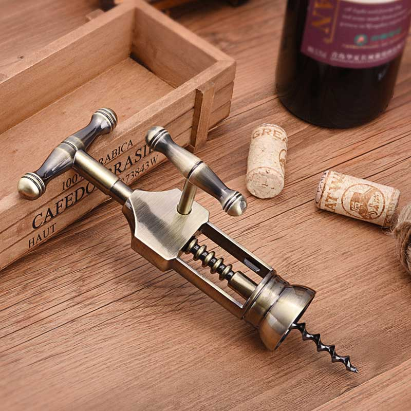 Professional Wine Opener Corkscrew Portable Screw Corkscrew Wine Bottle Opener Best Bar Wine Accessories and Gifts in Corkscrews Openers from Home Garden