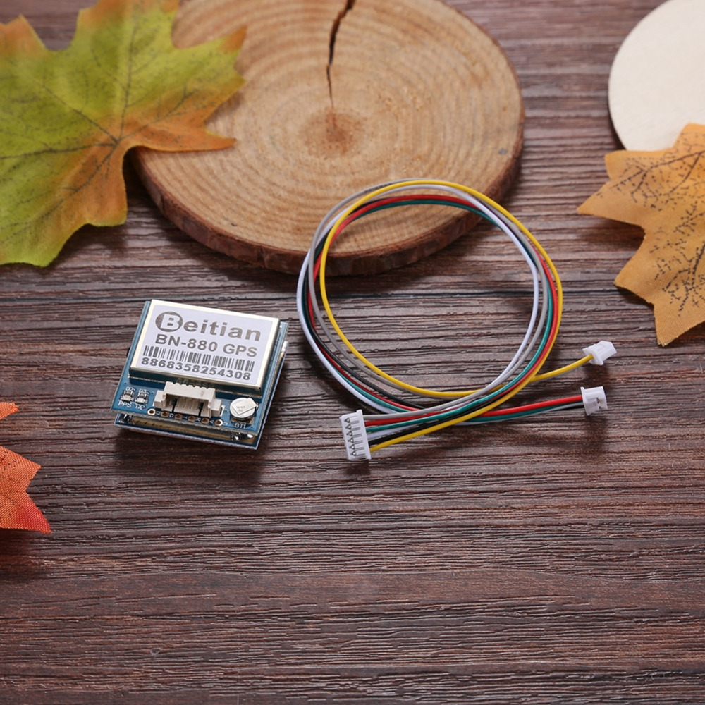 <font><b>Beitian</b></font> <font><b>BN</b></font>-<font><b>880</b></font> Flight Control GPS Module Dual Module With Cable Connecotr For RC Multicopter Camera Drone FPV Parts image