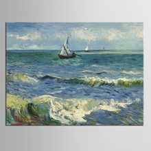 1 panel Oil Painting Canvas Print Seascape Sailing Ship Modern Picture Home Decoration Gift for Living Room Wall(China)