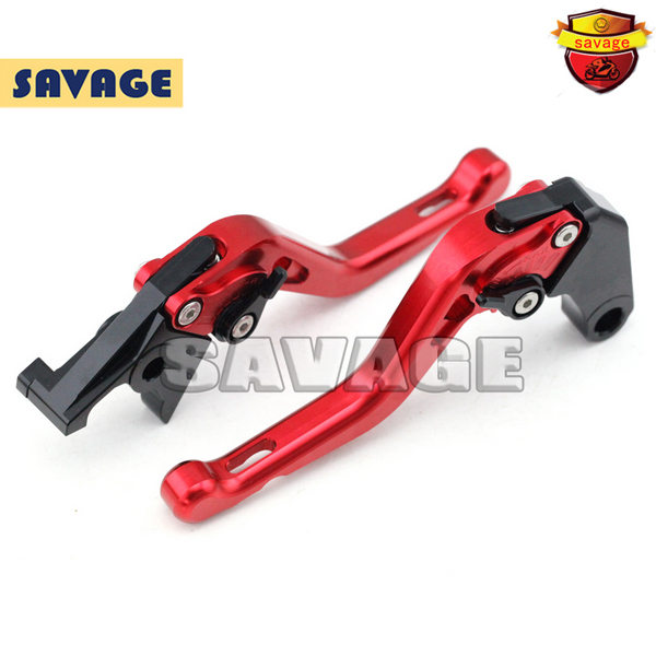For HONDA CB650F CB 650F CBR650F CBR 650F 2014-2015 Motorcycle CNC Aluminum Short Brake Clutch Levers Red racepro cnc labor saving red motorcycle adjustable lever for for honda cbr650f cb650f 2014 2015