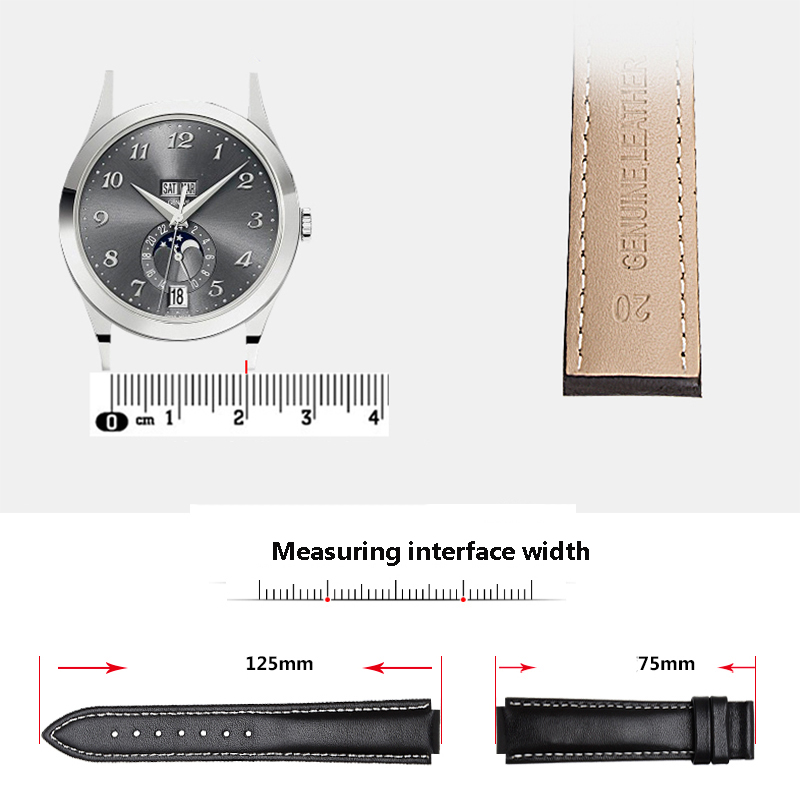 55116c1ed09e Quality genuine leather wdistband 24 16mm black brown bracelet eplacement  Strap For Timex T2N739 T2N721