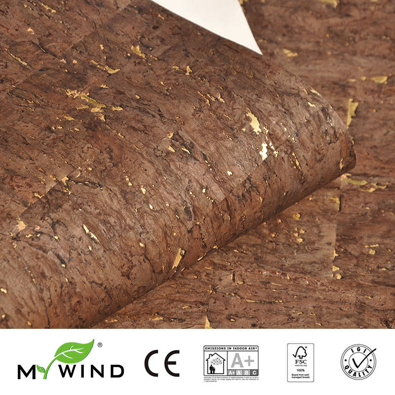 2019 MY WIND Burlywood Brown Wallpapers Luxury 100% Natural Material Safety Innocuity 3d Wallpaper In Roll Home Decor Classic