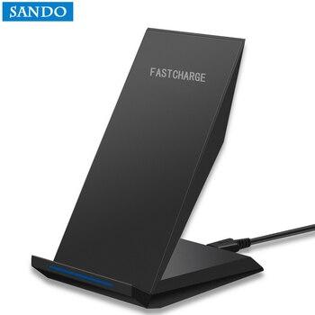 سريع شاحن لاسلكي 2 لفائف USB العالمي اللاسلكية شحن سريعة شاحن المحمول الهاتف ل iphone لسامسونج S6 S7 S8