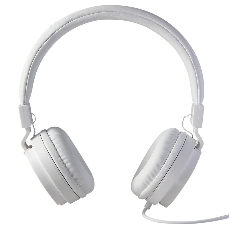 PROFUNDO BASS Auriculares Auriculares de Juegos de Auriculares de 3.5mm Plegable