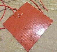 110 В 1500 Вт 550x400 мм силиконовый riscaldatore letto Подогрев кровать силиконовый принтер антифриз использование Механический Гидравлический прибор