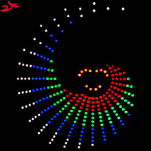 Zirrfa красивые танец света cubeed для подарок на день рождения, светодиодные электронные DIY Kit