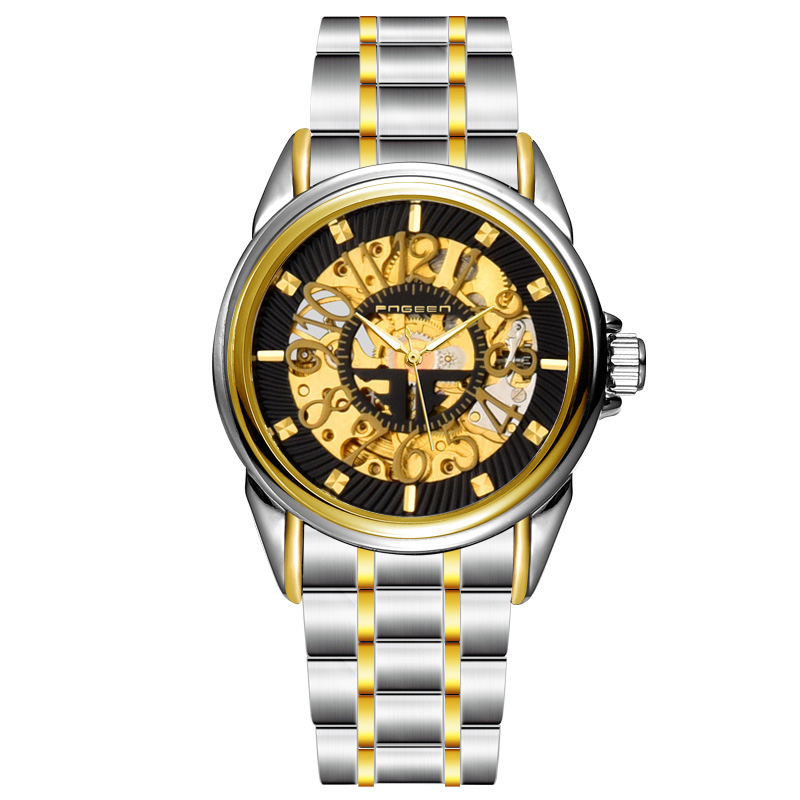 originality big  Arabic numerals scale skeleton Automatic Mechanical Men business wrist watch  Feature elegant climbing outdoor