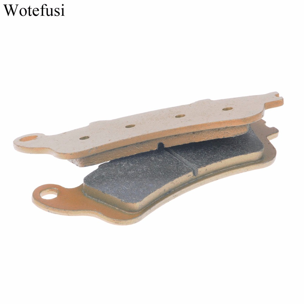 Wotefusi Front Brake Pads For Honda FJS 400 GL 1800 Goldwing FJS 600 A D Silverwing