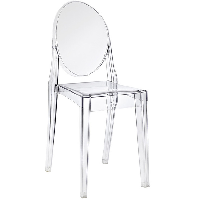transparent acrylic ghost chair ikea european and american furniture