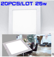 HOT 20PCS LOT 25w Led Panel Light DHL High Quality 2835 Smd Led Ceiling Light