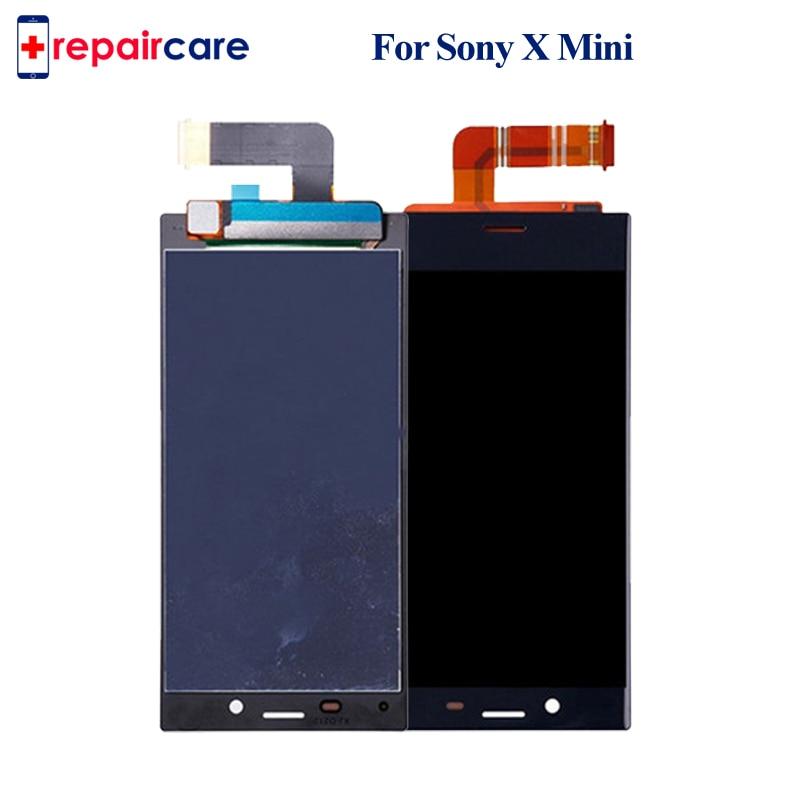 Écran LCD d'origine OEM pour Sony Xperia X Compact F5321 écran tactile 4.6 pouces numériseur assemblée pour SONY X MINI avec livraison gratuite