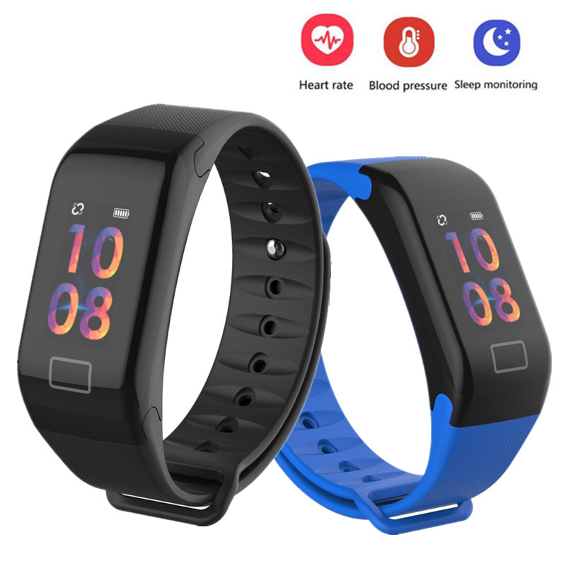 color-screen-waterproof-font-b-f1-b-font-plus-smart-wristband-watch-fitness-tracker-bracelet-call-reminder-step-pulse-heart-rate-monitor-band