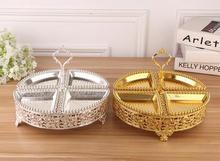 Европейский с серебряным покрытием 4 сетки круглый торт стойку с полым Свадебный Торт Стенд торт стеллаж для Свадебные украшения DGP056