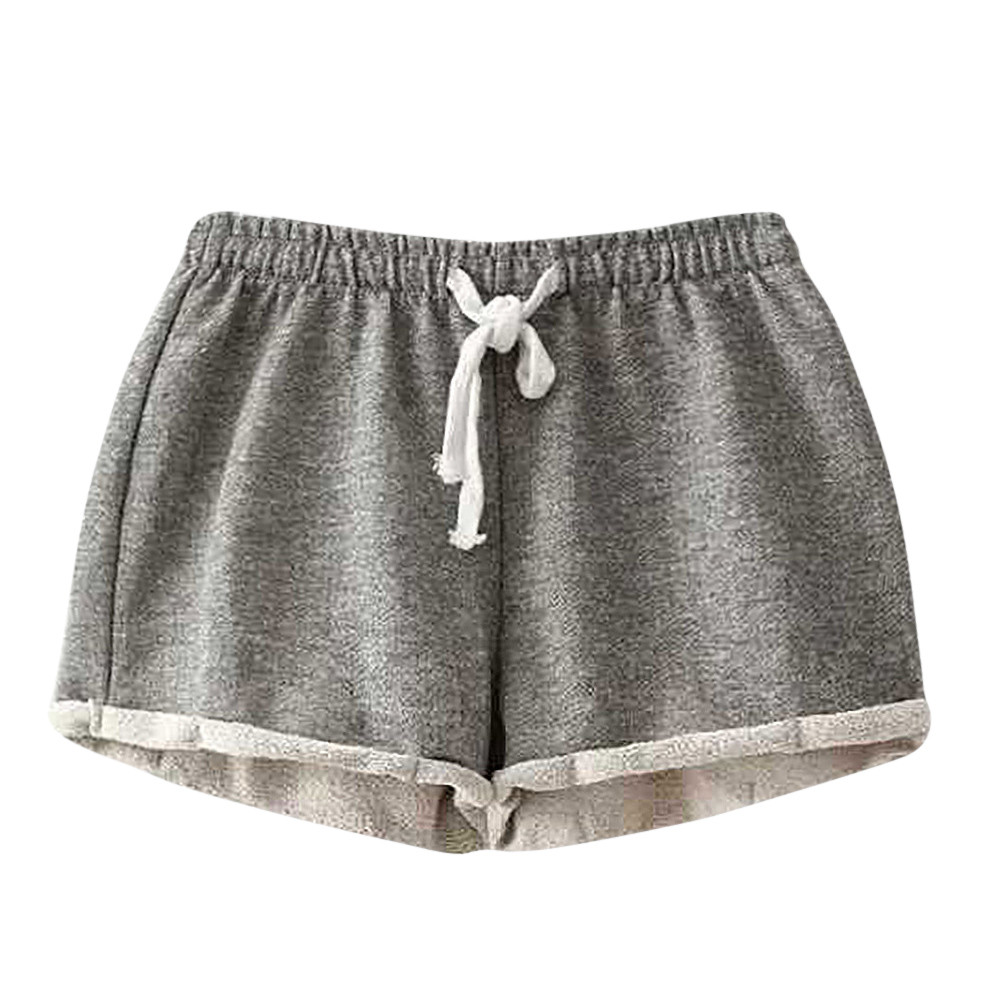 Shorts - Solid Casual Fitness Shorts