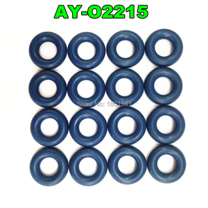 1000pieces viton oring seals 6*3.5mm for fuel injector repair kits Fuel Injector Seal (AY-O2215) free shipping