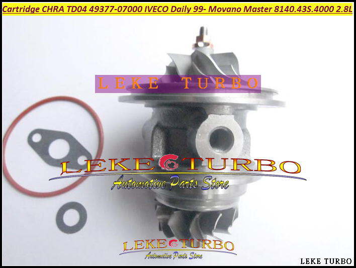 Turbo Cartridge CHRA TD04L 49377 07000 53039700075 53039700034 454126 For IVECO Daily Movano Master 1999-2003 8140.43S.4000 2.8L german truks iveco stralis промтоварный