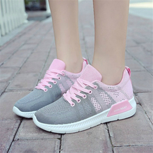 2018 Sneakers Women shoes Breathable Mesh Summer Running shoes for Women Sport shoes women Outdoor Jogging Non-slip Trainers N8