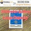 ECOO E04 E04 Más El 100% Original de Alta Calidad 3000 mAh Li-ion Batería Reemplazo de Batería de reserva para ECOO E04 Envío Gratis