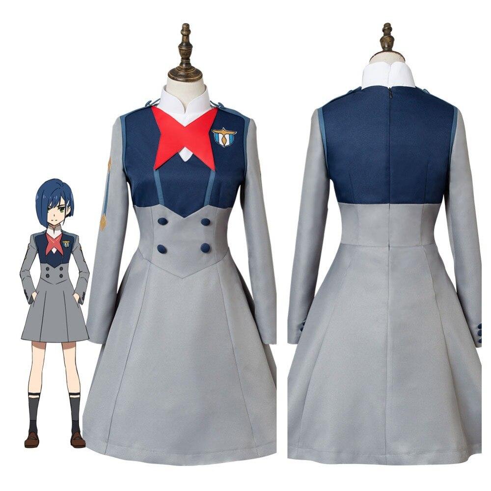 Anime DARLING in the FRANXX Icigo Cosplay Costume Code 15