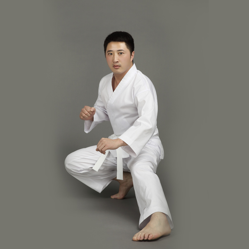 Adults&Kids Male Female Cotton White Karate Uniform Suits WTF Approved Dobok Tae Kwon Do TKD Clothes Size XXS-XXXL Plus Size ...