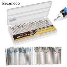 hot deal buy 30pcs/set tungsten steel grinding head nail drill bits drill die grinder carving nail tools electric manicure drill & accessory