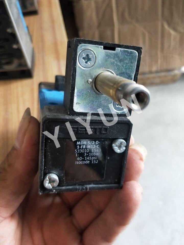 MDH-5/2-D-1-FR-M12-C 533010 MDH-3/2-24DC-PI 546019 MDH-5/3E-D-1-M12-C 197126 MDH-5/3G-D-1-M12-C 525307 FESTO Solenoid valve комплектующие к инструментам sodick edm d 2 3 z140d c o d 6x8x30l