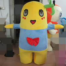 4a778ba6ef29 cosplay costumes Yellow Monster Mascot Costume for Halloween party(China)