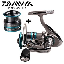 все цены на DAIWA PROCASTER Spinning Fishing Reel with Spare Spool 2000/2500/3000/3500/4000 Carp Fishing Reel Pesca Carretilha Lure Reel онлайн