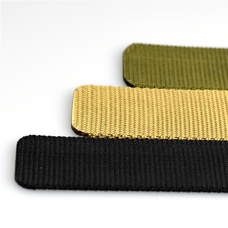Automatic nylon military men's belt 6