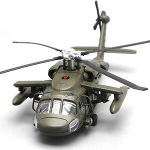 Image 3 - 29CM 1/72 Skala Schwarz Hawk Hubschrauber Militärischen Modell Armee Kämpfer Flugzeug Flugzeug Modelle Erwachsene Kinder Spielzeug Sammlungen Geschenke