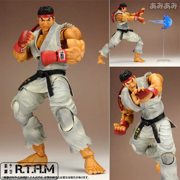 Play Arts Kai Super Street Fighter 4 Ryu Action Figure Super Hero tobyfancy play arts kai street fighter action figures ryu pvc model toys pa kai japanese anime figures street fighter