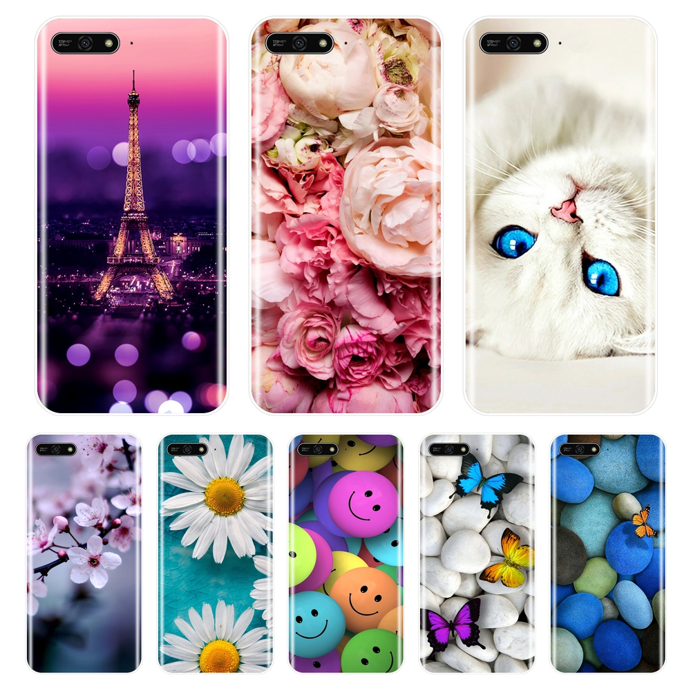 Cellphones & Telecommunications Fitted Cases Gentle For Huawei Y7 2017 Phone Case Cover For Huawei Y7 2017 Cute Novelty Tpu Painted Covers Cases For Huawei Y7 2017 5.5 Inch Fundas