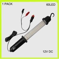 1 PACK 3w 12V Handheld 60 Led Work Lamp Luz Trabajo LED LED Emergency Light Cigarette