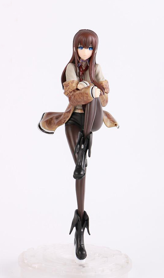 9 Cool Steins Gate Makise Kurisu 1/8 Scale PVC Action Figure Collection Model Toy starz 1 7 makise kurisu pvc action figures model japanese game steins gate toys player s collections