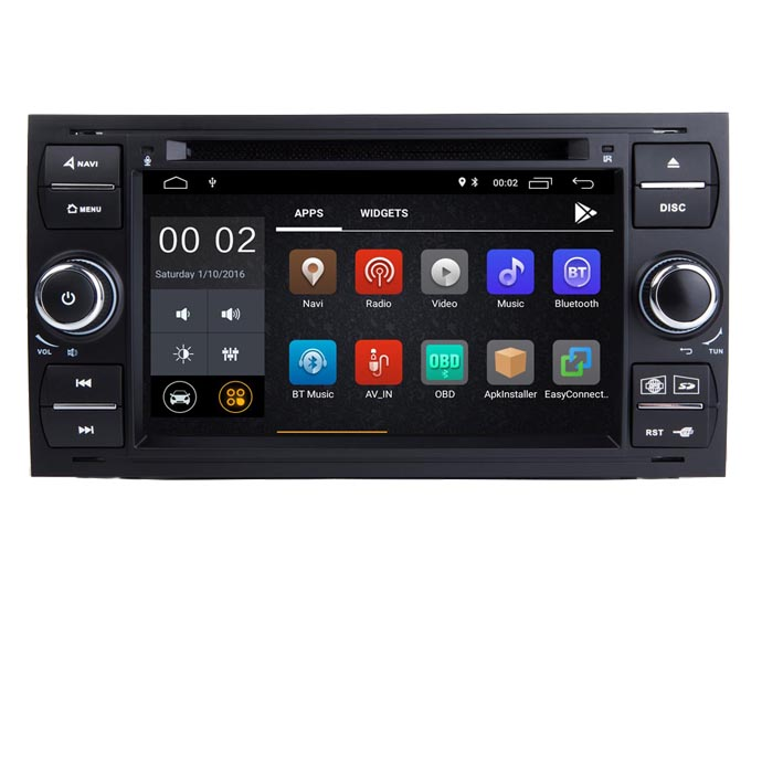 Android 10 Car radio gps navigation for Ford focus Kuga Transit dvd Wifi 3G Bluetooth SD OBD Mirror Link Steering wheel Control
