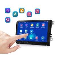 9001A 2 Din 9 дюймов сенсорный экран MP5 автомобильный радиоприемник проигрыватель gps навигация Android 7,1 Bluetooth 4,0 Wifi Автомобильный мультимедийный пл