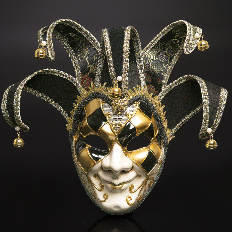 Women Party Mask Venice Masks Festive Supplies Masquerade Mask Christmas Halloween Venetian Costumes Carnival Anonymous Masks