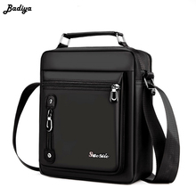 Купить с кэшбэком Oxford Solid Color Crossbody Bags Men Zipper Phone Purse Travel Bags Messenger Male Shoulder Bags Bolsa Sac Handbags