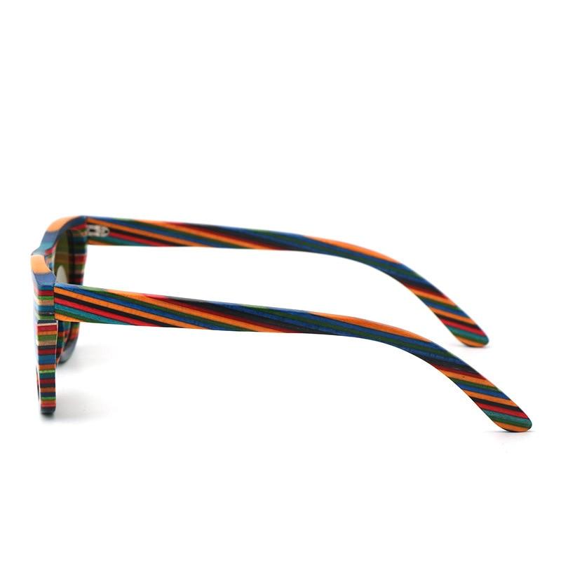 Holz tan Gläser Und Uv Xiwang grau orange Neue beweis Blau Colors Mode 2019 Stil Farbe other Licht Bambus Sonnenbrille Polarisierende Uv400 YwxwXqRIS