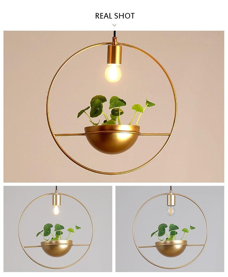北欧餐厅灯简约创意个性吧台单头床头奶茶店服装店小吊灯植物灯具-tmall_11