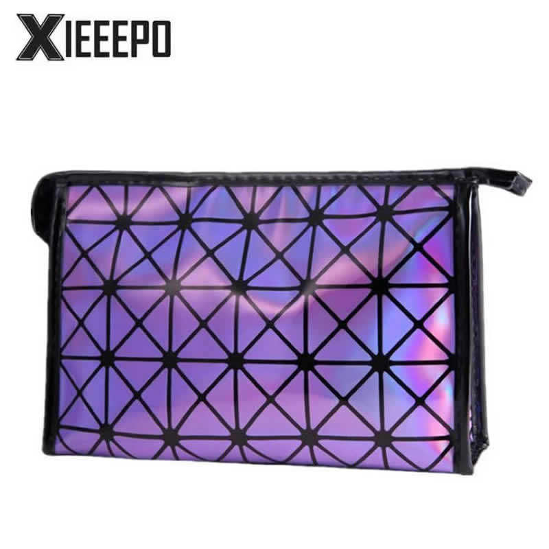 Fashion Women Travel Make Up Bag Organizer Zipper Cosmetic Bag Storage lighted Makeup Case Functional Pouch Toiletry Wash Bag new women fashion pu leather cosmetic bag high quality makeup box ladies toiletry bag lovely handbag pouch suitcase storage bag