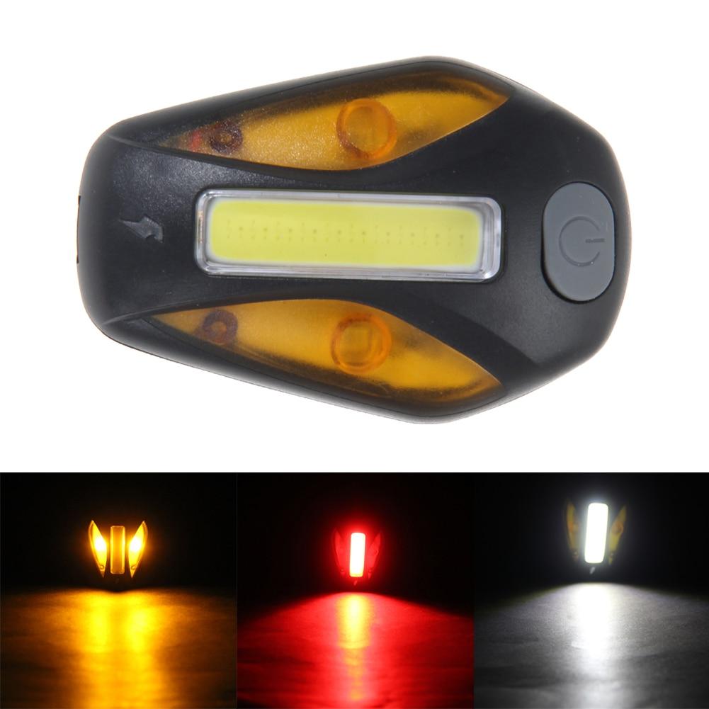 Велосипед Велосипедный СПОРТ 120 люмен COB светодиодный фонарик USB Перезаряжаемые Велос ...