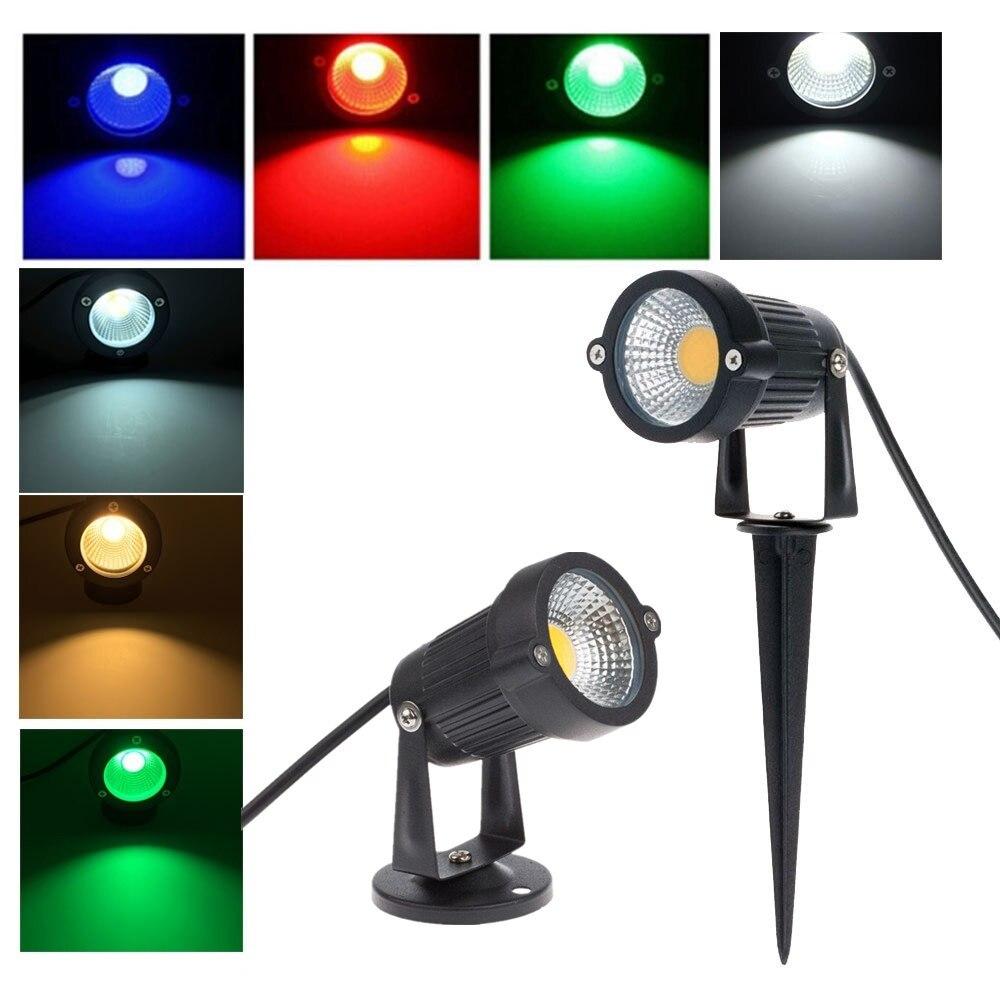 Wonderful Spot De Jardin Led #13: 5 Pcs Led Lampes De Jardin 85-265 V 5 W COB LED Pelouse Lumière