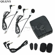 Motorbike Motorcycle Helmet 2-way Intercom Headset Communication System Drop shipping