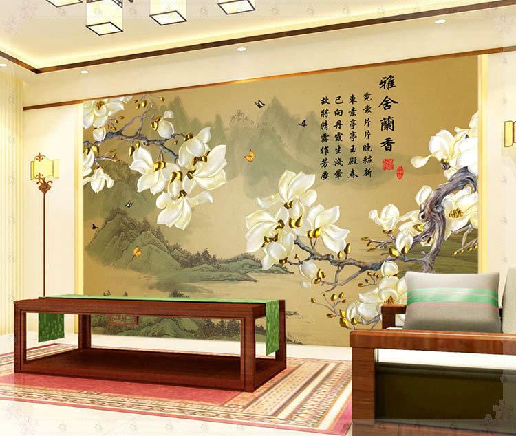 Online Shop Beautiful Flowers Design Of Modern Household Wall Paint Murals  Background Wallpaper With High Quality Wallpaper New York | Aliexpress  Mobile Part 98