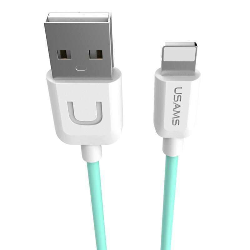 İPhone 6 üçün 1m USB Data Sinx Şarj Kabel Telefonu Adapter Teli - Cib telefonu aksesuarları və hissələri - Fotoqrafiya 2