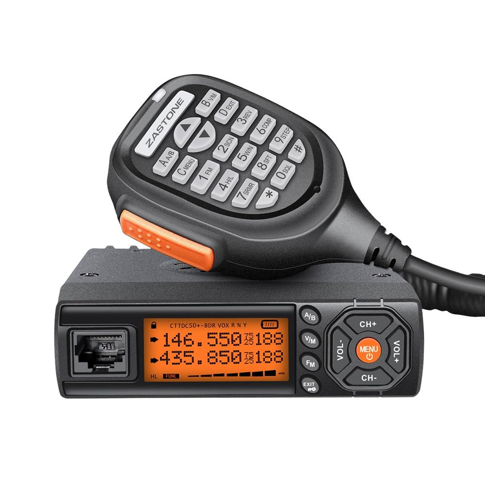 Zastone 218 bidirectionnelle Bi-bande radio Mobile Récepteur D'autoradio 20/25 w De Voiture Longue Portée Talkie-walkie talkie-walkie Mini Jambon Radio Station