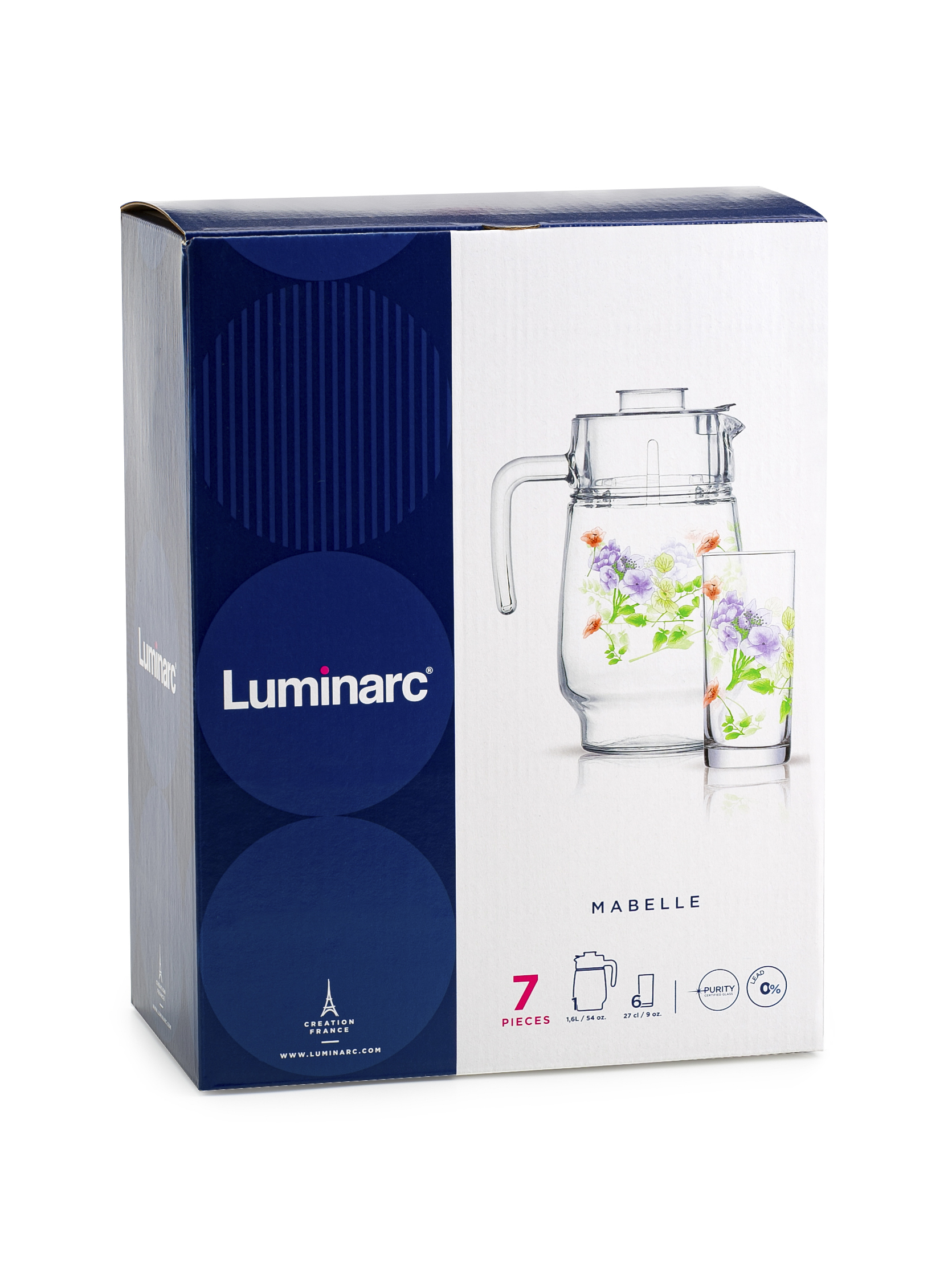 купить Drinking set Luminarc Mabel по цене 1499 рублей