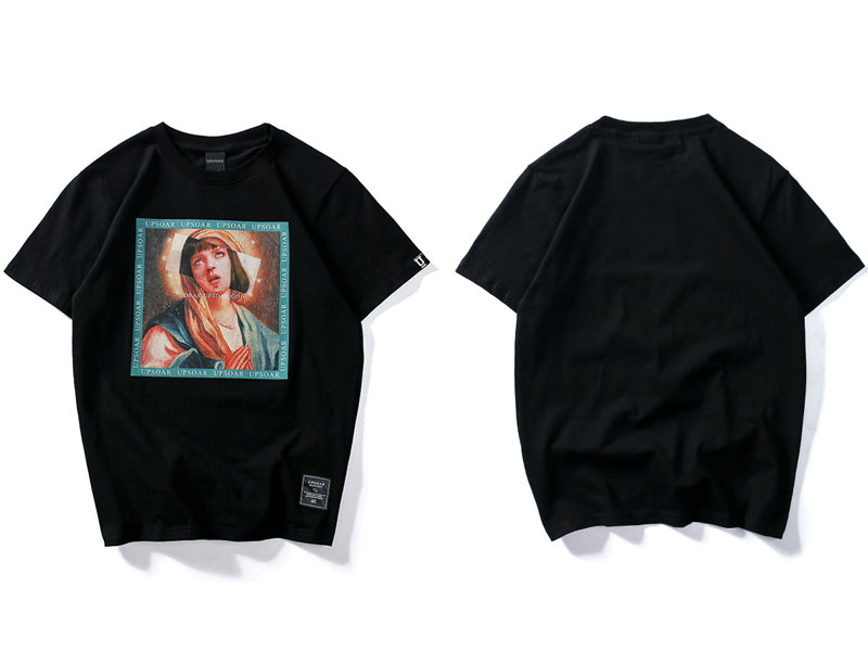 Virgin Mary Men's T-Shirts 3